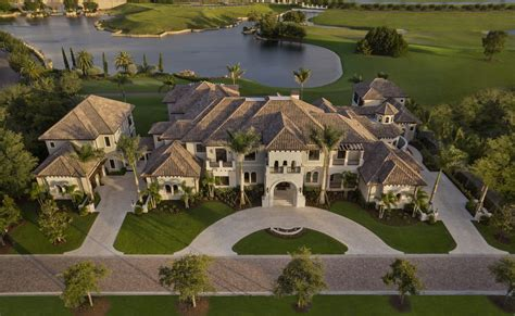 golf  home plan     sqft tuscan mansion