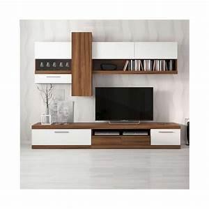 Meuble Tv Miami Blanc Sjour Meuble Tv