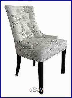 jeu de 2 set chaise salle 224 manger salon avec accoudoir fauteuil lettres sup chaise salle a manger