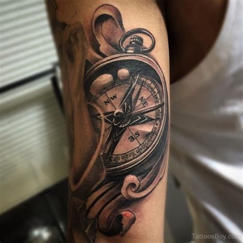 compass tattoo  bicep tattoo designs tattoo pictures