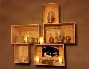Caisse De Vin En Bois : decoration caisse bois vin ~ Farleysfitness.com Idées de Décoration