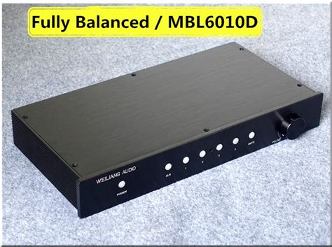 New Nobsound Fully Balanced Hifi Single Ended Class