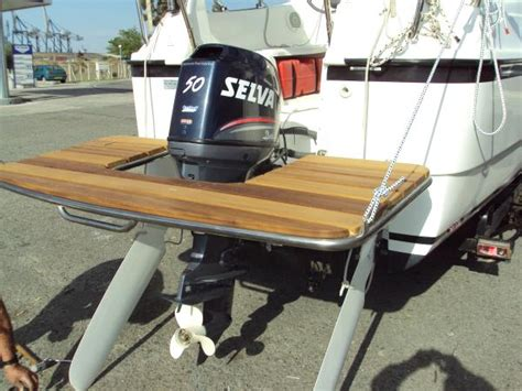 Boat Swim Platform Bumpers by Swim Platform On Outboard How The Hull