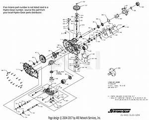 Gravely 991080  030000 - 039999  Pro-turn 152 Parts Diagram For Transaxle