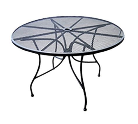 aaf omt 36 36 in patio table w umbrella