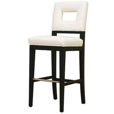 Modern White Leather Bar Stools contemporary white leather bar stool design bookmark 8182
