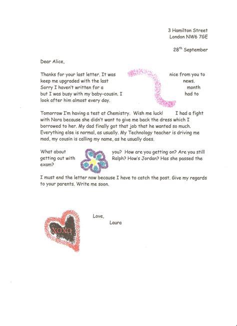 graders ii week  models  informal letters