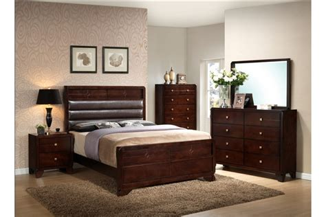 cherry bedroom sets bedroom sets mannus cherry king size bedroom set 11072 | g1400 1200x800
