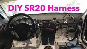Diy 240sx Custom Chassis Harness Wiring Sr20 Z32 Maf  Alternator
