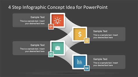 step template diagram  powerpoint slidemodel