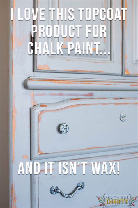 what paint should i use to paint kitchen cabinets protective topcoat for chalk paint all things thrifty 2269