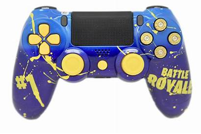 Fortnite Controller Ps4 Holding Characters Royale Battle