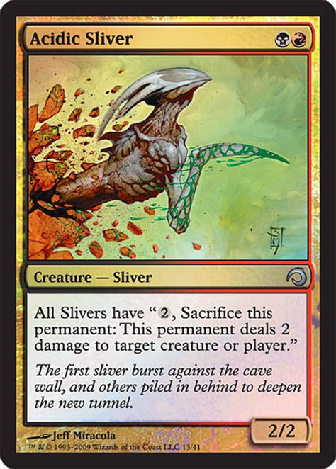 Magic The Gathering Sliver Deck premium deck series slivers spoiler and decklist