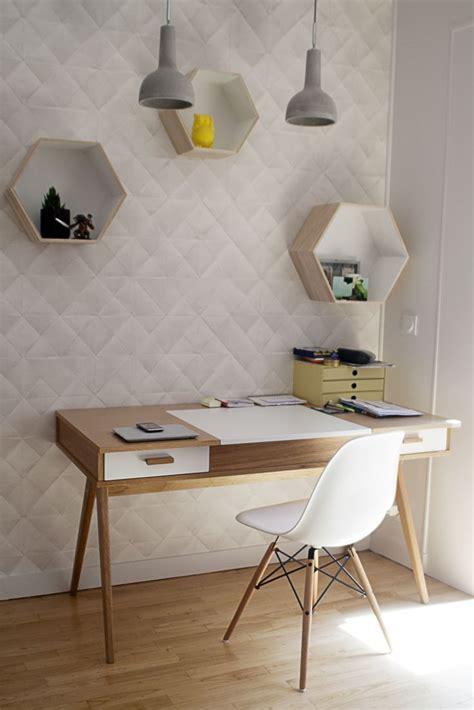 bureau simple blanc les 25 meilleures idées de la catégorie coin bureau sur