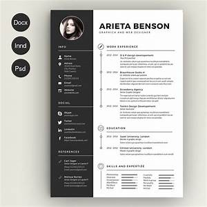 Clean Cv Resume Resume Templates Creative Market