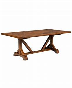 Mandara dining table furniture macy39s for Macys dining tables