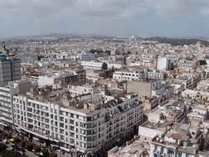 City in Tunis Tunisia