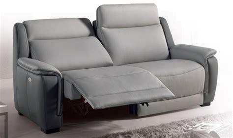 canapé 2 places relaxation électrique photos canapé 2 places relaxation électrique cuir