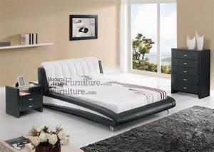 Sleek modern full size bedroom set betterimprovementcom for Full size bed sets