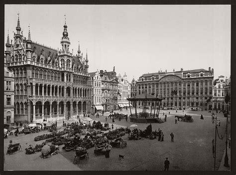 historic bw   brussels belgium