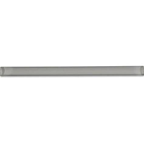 splashback tile gray taupe 3 4 in x 6 in glass pencil