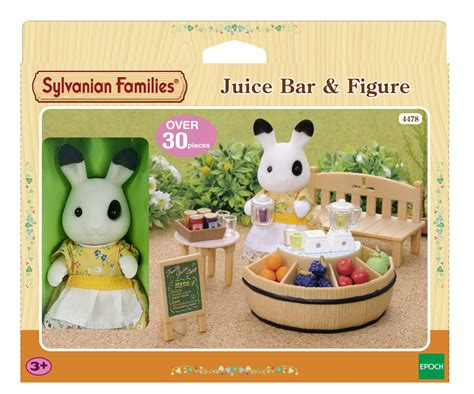 sylvanian families cuisine sylvanian families food shop theme sets range choose your set brand