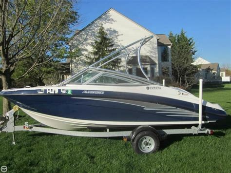 Small Yamaha Jet Boats For Sale by 2012 Used Yamaha Ar 190 Jet Boat For Sale 22 995