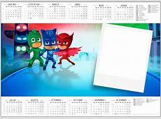 Photo montage marco calendario pj mask Pixiz