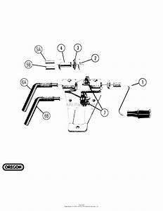 Oregon Forestry Accessories Parts Diagram For Bench