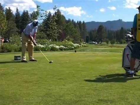 charles barkley swing charles barkley golf swing 2012 edgewood golf