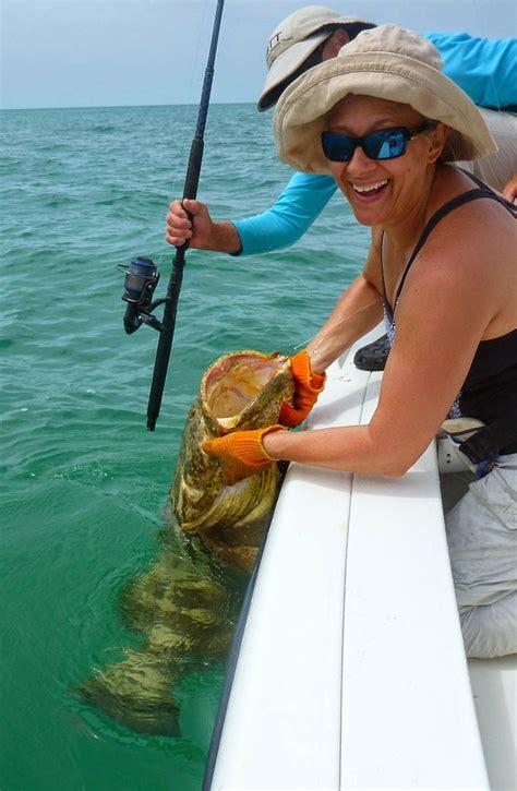 fishing tarpon grouper goliath decent week rod action reel