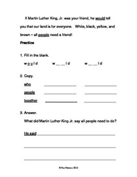 martin luther king jr grade level d reader by