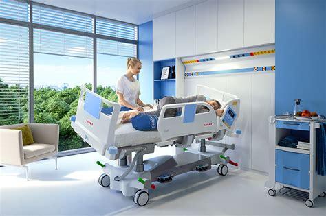 intensive care icu bed eleganza  linet beds
