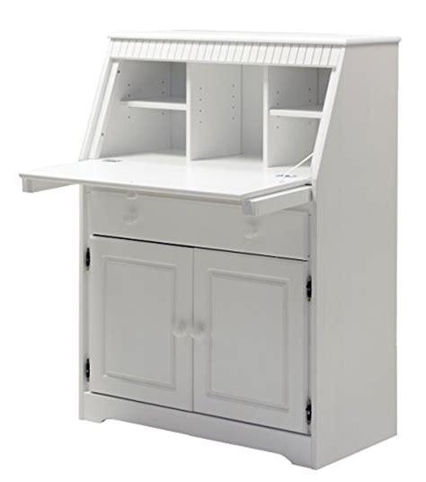 bureau secr aire blanc clever moebel bureau secrétaire en pin massif blanc