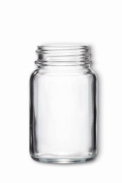 Glass Powder Jar Clear Jars Packaging Lifestyle