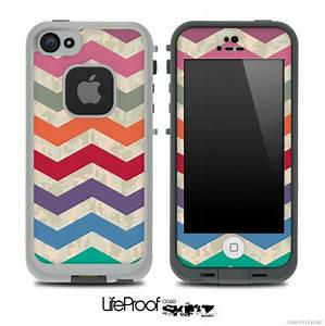 Vintage Colorful Digital Camo Chevron Pattern for the ...