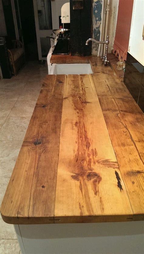 hand  reclaimed wooden worktops wooden kitchen wood