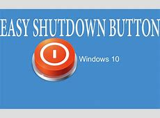 #2 Windows 10How to Create A Shutdown Button On The