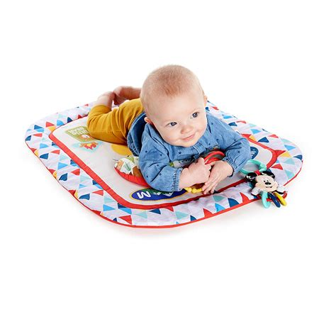 disney baby mickey mouse camping  friends prop mat
