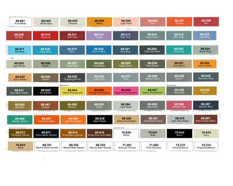 vallejo mecha colors acrylic paint shopping in