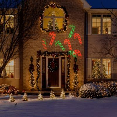 lowes christmas lights outdoor and yard decorations