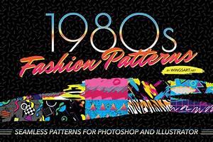 1980s Retro Fashion Patterns by wingsart   Hug a Designer