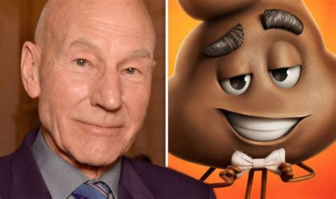 patrick stewart upcoming performances the emoji movie reviews are terrible zero per cent on