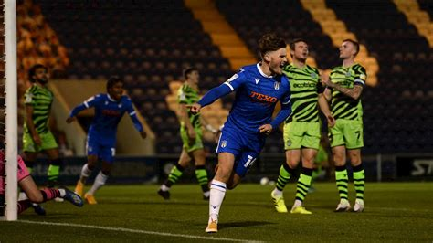Colchester United 1-0 Forest Green Rovers - News ...