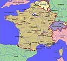 lyons france map - Google Search | France map, Vacation ...