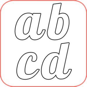 moldes de letras para imprimir gran variedad