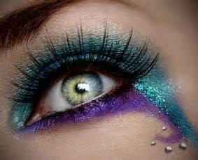 17 Best images about Peacock Make Up on Pinterest