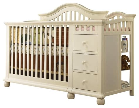 contemporary cribs for babies sorelle cape cod crib n changer white modern