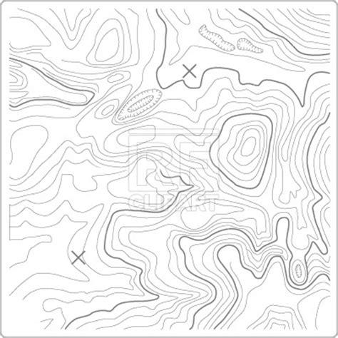 topographic map vector image  signs symbols maps  prague  rfclipart