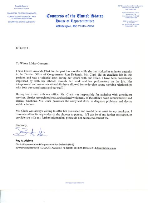 Intern Resume Sle by Internship Recommendation Letter Sle Teacheng Us With